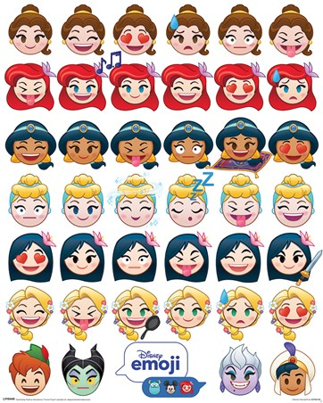 A Happy Ending - Disney Emoji Princess