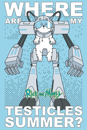 Where Are My Testicles - Rick and Morty
