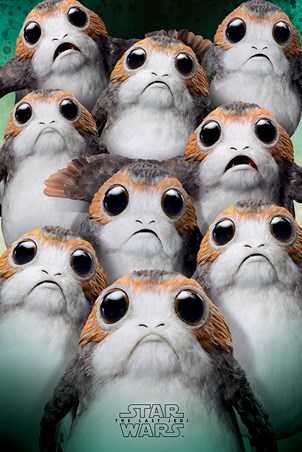 Many Porgs - Star Wars The Last Jedi