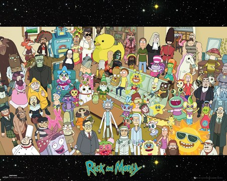 Cast - Rick and Morty