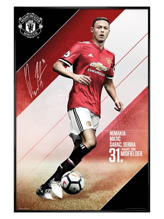 Gloss Black Framed Matic 17-18, Manchester United