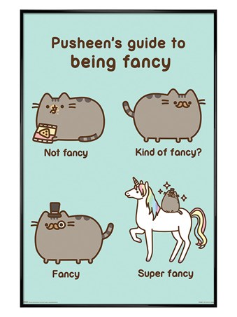 Gloss Black Super Fancy - Pusheen