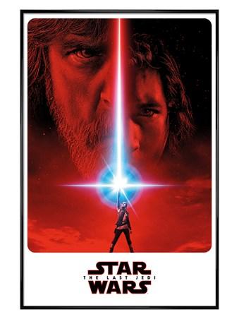 Framed Gloss Black Framed Teaser - Star Wars The Last Jedi