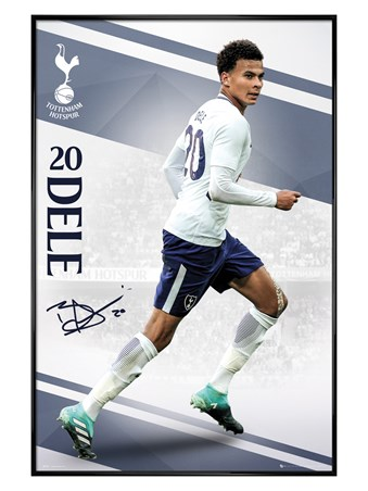 Gloss Black Framed Alli 17-18 - Tottenham
