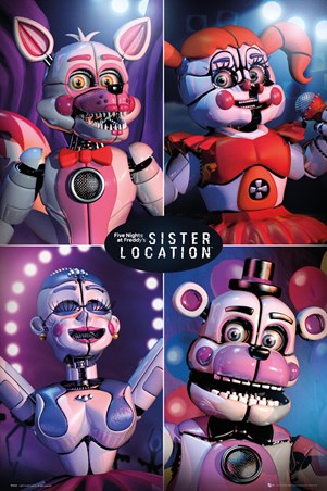 Sister Location Quad - Five Nights at Freddy's