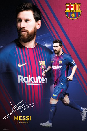 Messi Collage 17-18 - Barcelona