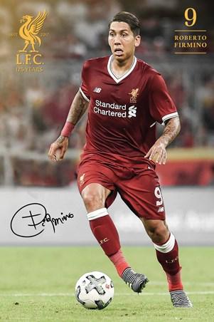 Framed Firmino 17-18 - Liverpool FC