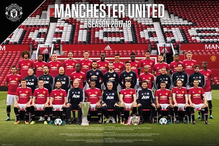 Team Photo 17-18 - Manchester United