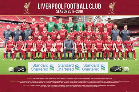 Photo 17-18 - Liverpool Team