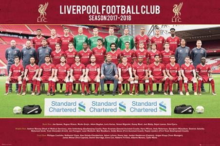 Framed Photo 17-18 - Liverpool Team