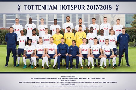 Photo 17-18 - Tottenham Team