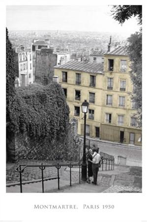 Paris In The 1950s - Montmartre