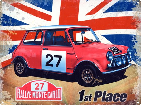 Taking 1st Place - Mini Cooper S