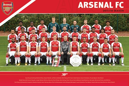 Arsenal FC - (Team 17/18)