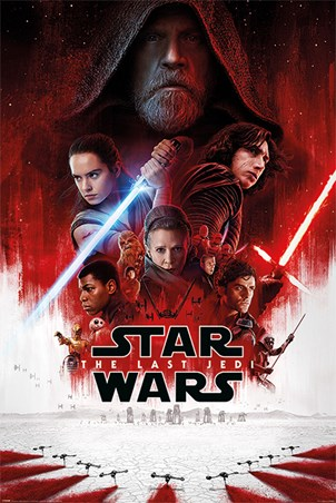 The Last Jedi One Sheet - Star Wars