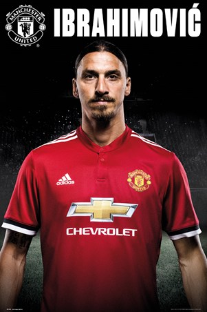 Zlatan Stand 17-18 - Manchester United