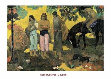 Rupe Rupe - Eugène Henri Paul Gauguin