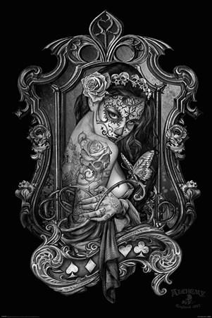 Framed Widow's Weeds - Alchemy Gothic