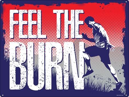 Feel The Burn - Motivational