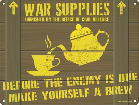 Before The Enemy Is Due - Make Yourself A Brew