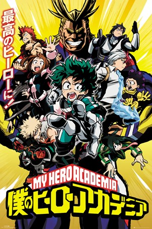 Season 1 Cast - My Hero Academia