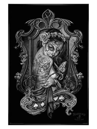 Framed Gloss Black Framed Widow's Weeds - Alchemy