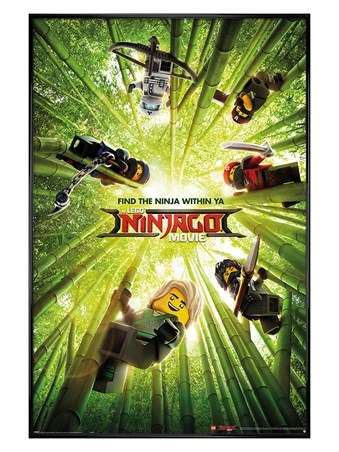 Gloss Black Framed Bamboo - LEGO® Ninjago Movie
