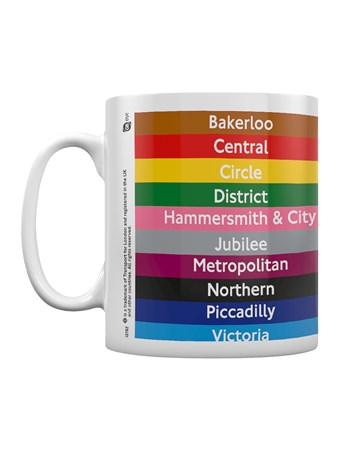 Rainbow Commute - Transport For London Lines