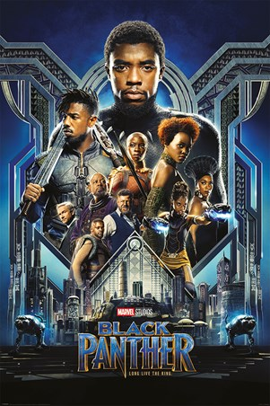 One Sheet - Black Panther