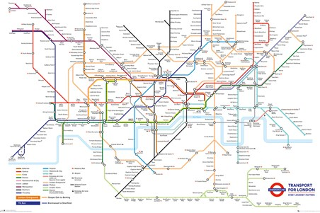 Underground Map, Transport For London