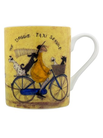 Framed Sam Toft The Doggie Taxi Service - Sam Toft