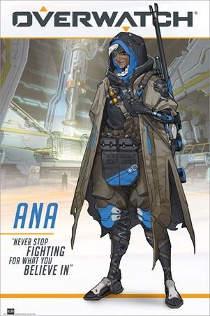 Ana The World's Most Elite Sniper - Overwatch