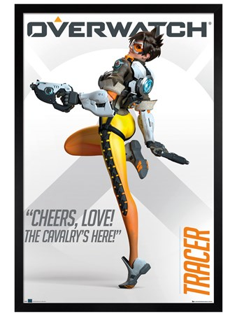 Black Wooden Framed Overwatch Tracer - The Cavalry's Here!