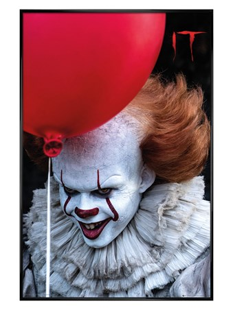 Gloss Black Framed You'll Float Too! - IT
