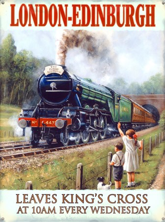 The Flying Scotsman - London & North Eastern Railways