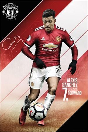 Sanchez 17-18, Manchester United