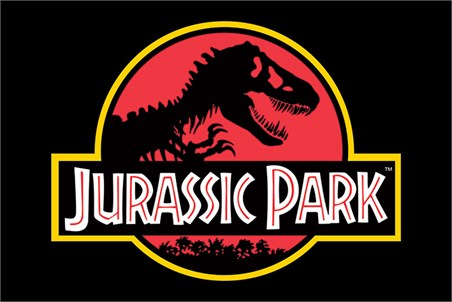 Framed Movie Logo - Jurassic Park
