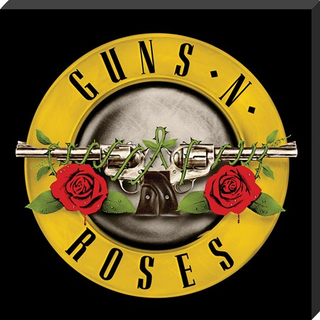 Framed Bullet Logo Classic Album Cover - Guns N Roses