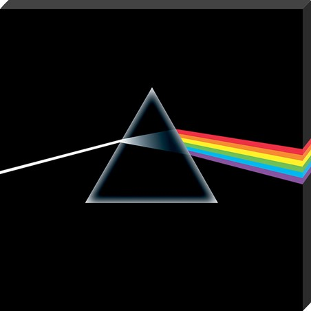 Pink Floyd Dark Side Of The Moon Classic Album Cover Canvas -