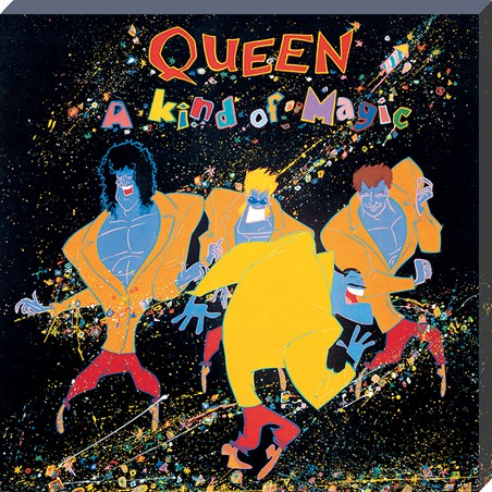 Queen A Kind Of Magic Classic Album Cover Canvas -