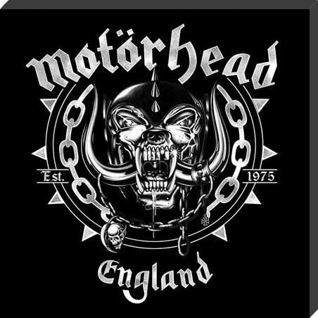England Classic Album Cover - Motorhead