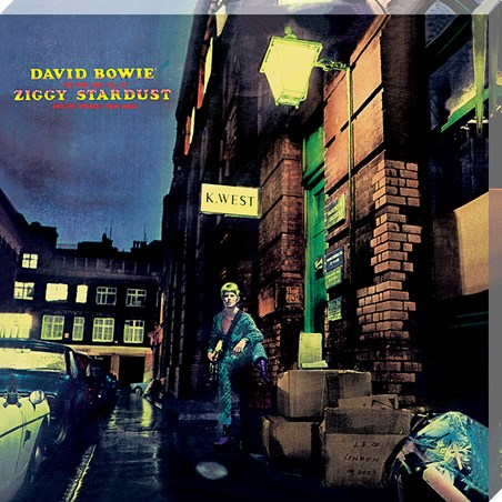 Ziggy Stardust Classic Album Cover - David Bowie