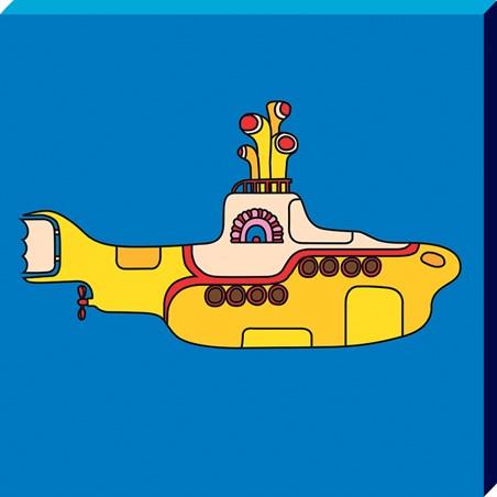 Framed Yellow Submarine - The Beatles