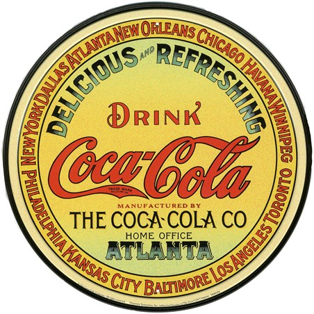 Vintage Keg Label, Coca Cola
