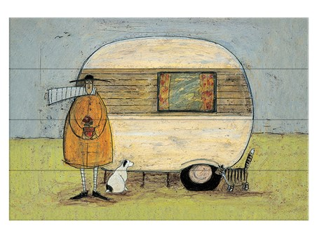 Framed Home From Home - Sam Toft