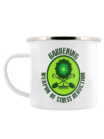 Framed Weapon Of Stress Reduction - Gardening