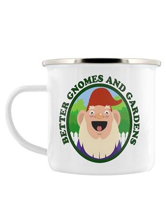 Better Gnomes & Gardens Enamel Mug -