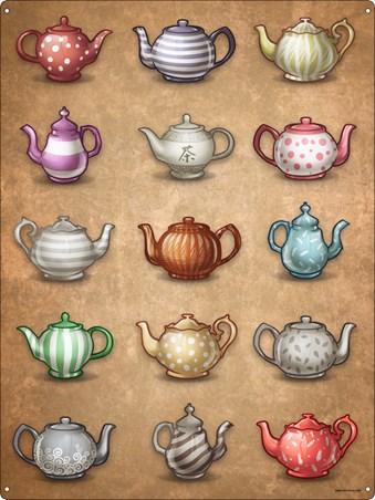 Tea Time - Teapots