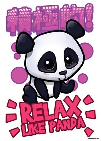 Relax Like Panda - Handa Panda