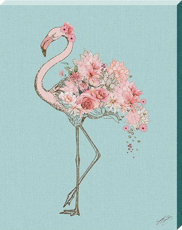 Floral Flamingo - Summer Thornton
